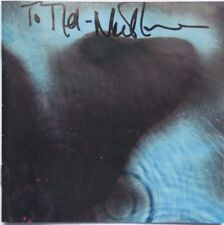 Meddle CD insert signed To Mel by Nick Mason of Pink Floyd and Meddle CD