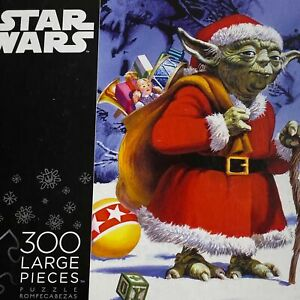 Buffalo Games Star Wars Christmas Large Format 300 Pcs Puzzle Complete