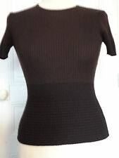 PULL FEMME MANCHE COURTE TAILLE 1