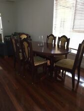 Italian Dining Furniture Sets with 9 Pieces