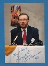 Krzysztof Zanussi  International Film Maker  - Signed Color Photo