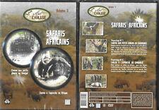 DVD - LA CHASSE : SAFARIS GIBIERS CHASSE A L' APPROCHE EN AFRIQUE / NEUF EMBALLE