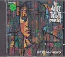 THE JAMES TAYLOR QUARTET - get organized CD