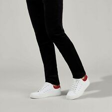 BNIB KG Kurt Geiger Men's White Leather Low Top Sneakers Trainers 11/45 RRP £99
