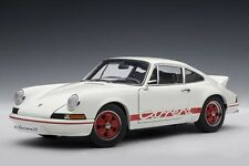 PORSCHE 911 Carrera 2.7 RS 1973 Entenbürzel rot red weiss white AUTOart 1:18