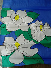 "SPRING FLORAL MAGNOLIAS APPLIQUED SEASONAL FLAG BANNER HEAVY NYLON 28"" X 40"" NEW"