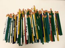 144 Lot Misprint Pencils with Rubber Eraser #2 Lead, Bulk Wholesale Lot