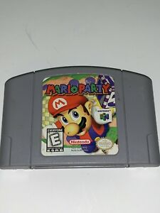 Mario Party (Nintendo 64, 1999)-AUTHENTIC CART ONLY-TESTED