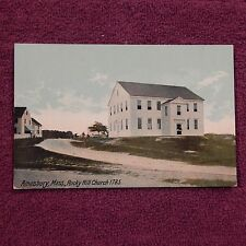 Vintage Postcard Amesbury, Mass., Rocky Hill Church, 1785