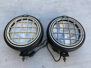 96-02 Land Range Rover Discovery Defender P38 Safari Fog Lights Lamps