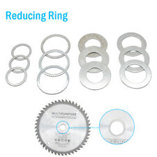Reducing Rings, Bushes Sawblade Spacers Bushing Washers for Saw Blade Bores New