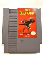 Wrath of the Black Manta ORIGINAL NINTENDO NES Game Tested + Working Authentic!