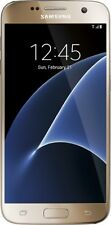 Samsung Galaxy S7 SM-G930U 32GB -Gold Platinum - Factory unlock- No carrier logo