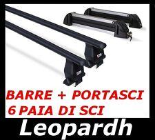 BARRE + PORTASCI 6 PAIA PER MERCEDES CLASSE B 2012-> PORTA SCI PORTAPACCHI