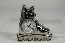 In Line Skate Clock-Beautiful Black Gift Box - Perfect for Home or Office  NEW
