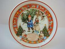 WEDGWOOD A CHILDS CHRISTMAS 1980 PLATE