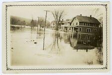 Old Photo Town Flood Manhasset Village Putman New York