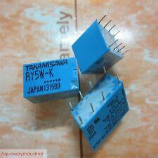 20x NEW TAKAMISAWA RY5W-K RY5W K DPDT SIGNAL RELAY