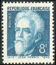 "FRANCE TIMBRE STAMP N°821 ""JEAN PERRIN"" NEUF X TB"