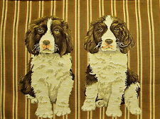 English Cocker Spaniels Belgian Tapestry Pillow Cover