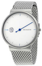 Skagen SKW6193 Ancher Silver Dial Stainless Steel Men's Watch
