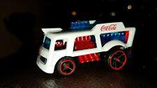 "Custom 1/64 Scale Hot Wheels ""Chill Mill"" Coca-Cola Delivery Truck"