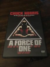 A Force of One (DVD, 2004) RARE CHUCK NORRIS 1979