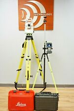 Leica Ts16 P 5 R500 Robotic Total Station Cs20 Captivate Data Collector