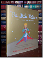 The Little Prince New Illustrated Deluxe Gift Hardcover 75th Anniversary Edition