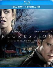 REGRESSION The MOVIE on a BLU-RAY DVD + DIGITAL HD COPY UltraViolet EMMA WATSON!