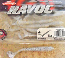 "Berkley Havoc Beat Shad 4"" - Oyster Shell Gold, Soft Plastic Lure"