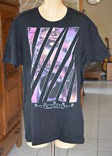 GUESS -Très joli tee-shirt noir - Taille L/G - EXCELLENT ÉTAT