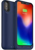 Mophie Juice Pack Air 1,720mAh Battery Case Qi-Wireless iPhone X & XS - Blue
