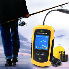 100M  Lucky FFC1108-1 Smart Fish Finder Sonar Detector Laker For Bait Boat Depth