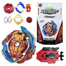 New Beyblade Burst GT B-150 Union Achilles Cn Xt With Ruler/Wire Launcher Toy