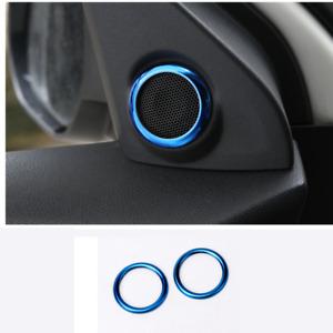 Blue Front door Speaker Cover Trim For Mitsubishi Outlander Sport 2020-2021