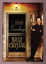 700 SUNDAYS- MOVIE / TV STAR BILLY CRYSTAL SIGNED 1ST -HB-UNREAD- Like NEW