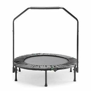 Marcy Trampoline Cardio Trainer with Handle ASG-40, Black (Black)
