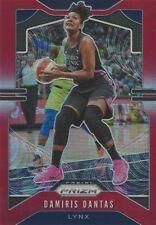 2020 WNBA PANINI PRIZM * DAMIRIS DANTAS * RED PRIZM PARALLEL CARD 041/275 LYNX
