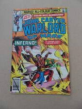 John Carter , Warlord Of Mars 25 . Marvel 1979 . FN