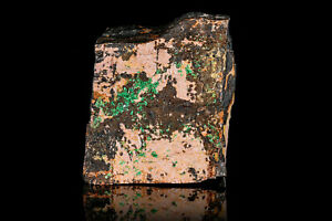 uranium mineral *TORBERNITE* decorative nice and rare specimen from Portugal