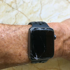 Apple Watch Series 3 GPS Nike+ Branded 42 Mm Space Gray Aluminum for parts