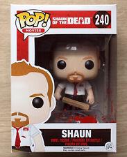 Funko Pop Shaun Of The Dead Shaun Bloody + Free Protector