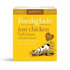 Forthglade Just Chicken Grain Free Wet Dog Food 100% Natural 395g Tray
