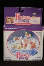 Fisher-Price Precious Places 5175 Nursery Furniture 1988 NEW OPEN BOX