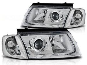 VW PASSAT B5 SEDAN WAGON 1996 1997 1998 1999 2000 HEADLIGHTS LPVW68 CHROM