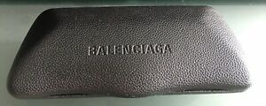 BALENCIAGA AUTHENTIC SUNGLASSES HARD CLAMSHELL CASE - GENTLY USED