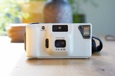 Rare Working White Minolta FS-E III Point And Shoot With Pouch