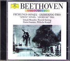 MENUHIN KEMPFF SZERYNG: BEETHOVEN Violin Sonata 5 Spring Piano Trio Archduke CD