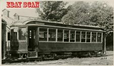 6H999B RP 1930s?  BOSTON & WORCESTER STREET RAILWAY CAR #89